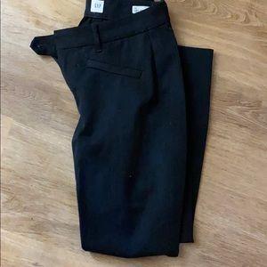 Gap curve skinny ankle charcoal pants